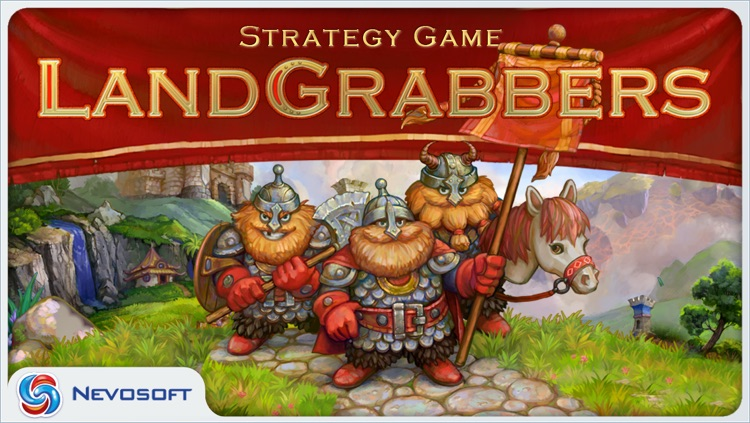 LandGrabbers: medieval real time battle strategy screenshot-0