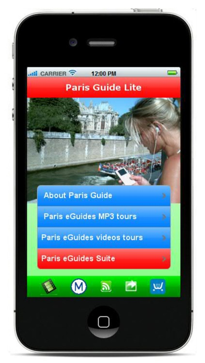 Paris Guide - MP3 and video tours, Sorbonne, Luxembourg Garden..., metro