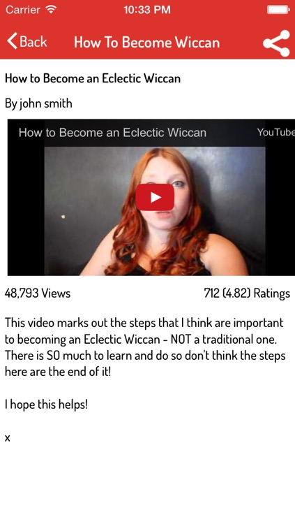 Wicca Guide screenshot-2