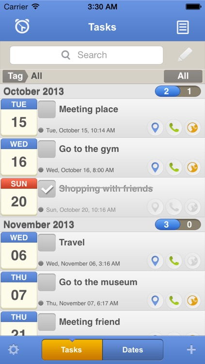 CubeTask Lite(Todo+Note+Alarm) screenshot-1