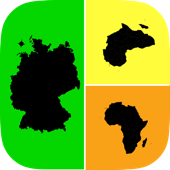 Allo! Guess the Country Map Geography Quiz Trivia  - What's the icon in this image quiz