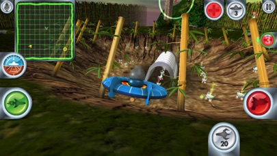 Screenshot from Air Wings Intergalactic