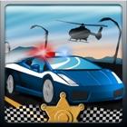 Polizei Autorennen - Police Car Race, Fun Racing Game icon