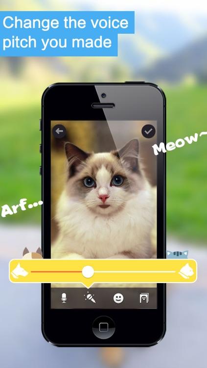My Pet Can Talk Pro - Make your dog, cat or other pets talking like talking tom, ginger, angela or ben screenshot-3