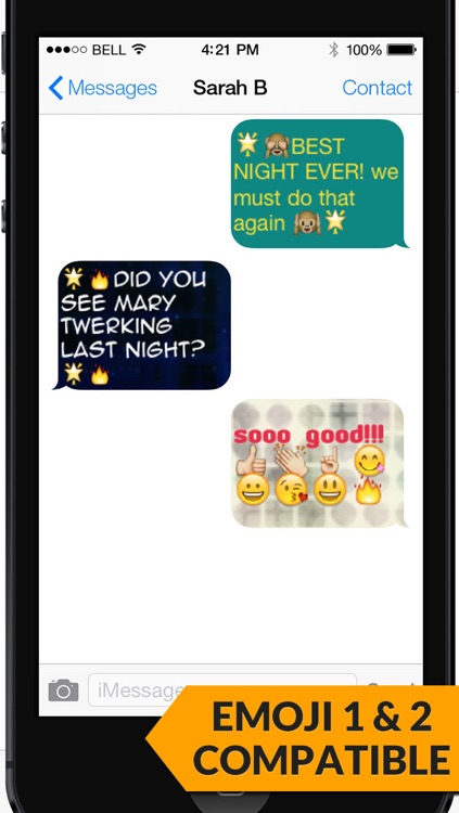 Pimp My Text PRO - Send Color Text Messages with Emoji 2 screenshot-4