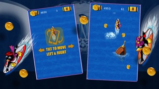 Super Surfer Penguin - Crazy Wave Surfing Dash (Free Game)-1