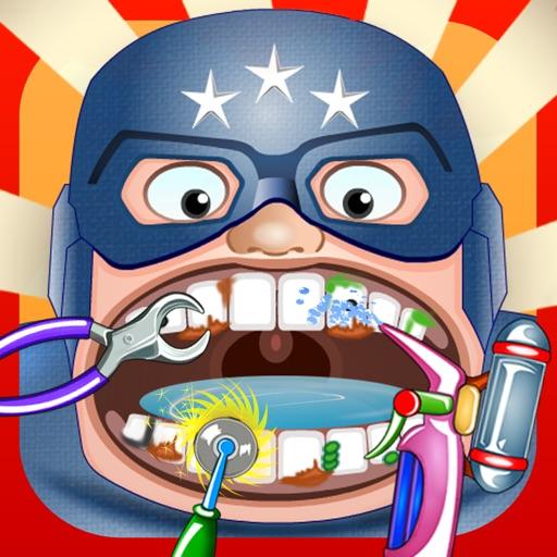 A Superhero Dentist X2 - Evil Bad Teeth Games Edition