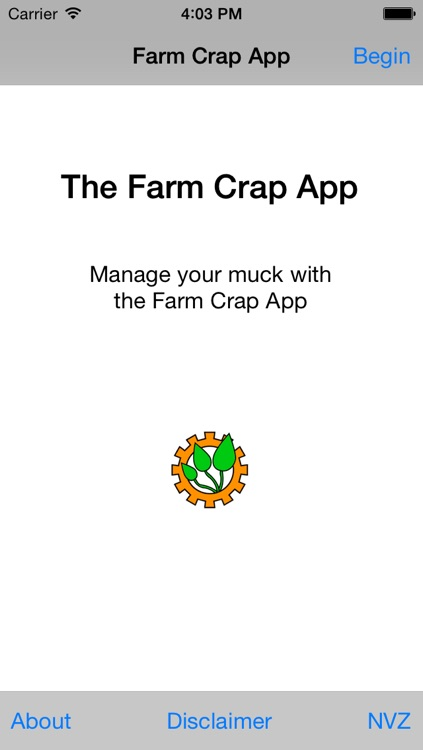 Farm Crap App
