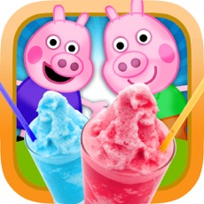 Activities of My Happy Little Pig Frozen Slushie Party Time Club Maker Mania Game - Free App