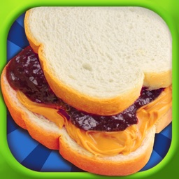 Peanut Butter Sandwich Maker - PB & Jelly!