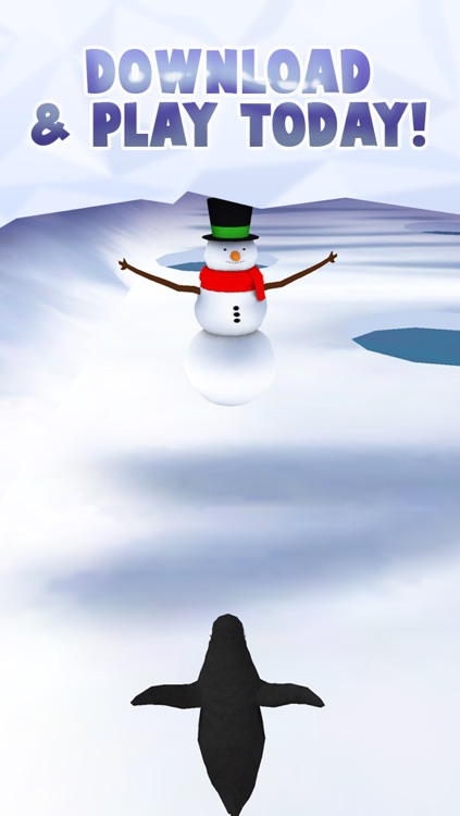 Fun Penguin Frozen Ice Racing Game For Girls Boys And Teens By Cool Games FREE screenshot-4