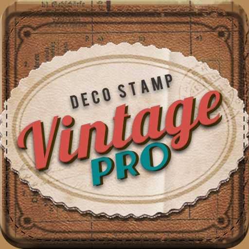 Vintage Deco Pro - Sticker Camera for Photo Editing