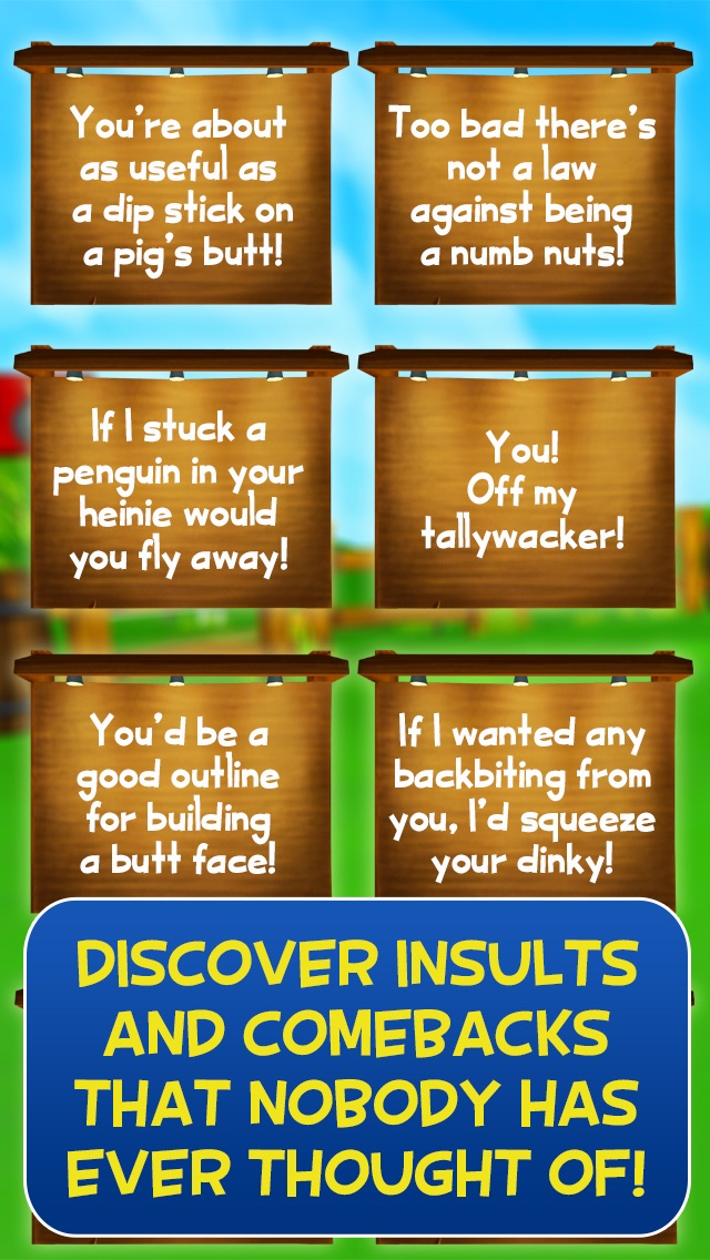 Buster Talks! Funny Insult and Comeback Generator Screenshot