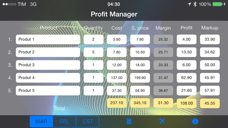 Profit Manager screenshot-0