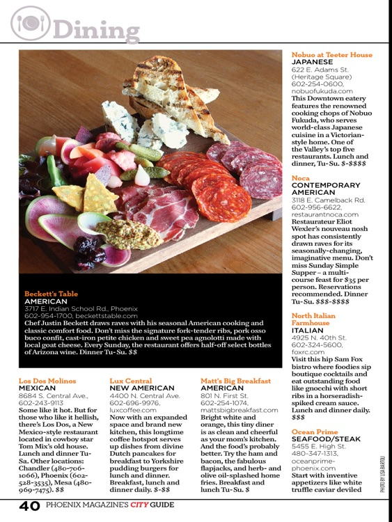 Phoenix Magazine 2014 City Guide screenshot-0
