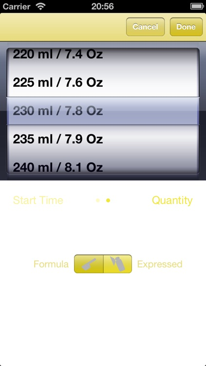 Bottle Feeding Friend - Baby feed tracker screenshot-3