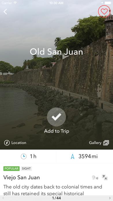 Пуэрто-Рико - Оффлайн-карта и путеводитель от TripomaticСкриншоты 4