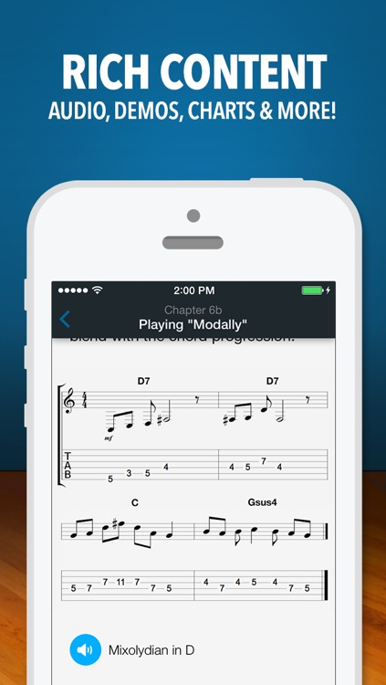 Modal Buddy - Guitar Jam Tool, Scales & Modes Theory Trainer screenshot-4