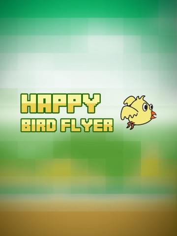 Happy Bird Flyer - Fun Birdie flying adventure-ipad-2