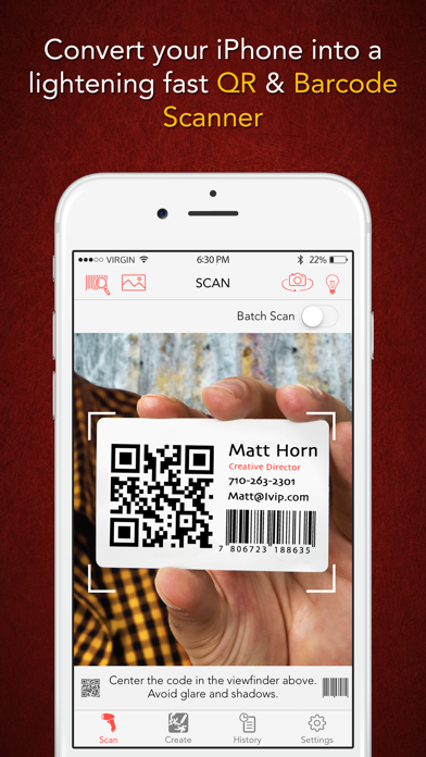 Scanify - Barcode Scanner, Shopping Assistant, and QR Code Reader & Generator Screenshot