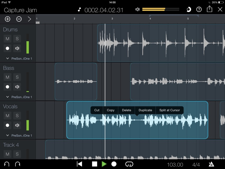 PreSonus Capture screenshot-1