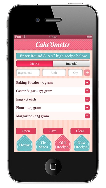 CakeOmeter – Scale Recipes and Cooking Times