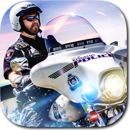 Мотоциклы Полиция Гонка Игра - Бесплатные Милиция Скорость Игры Гонки