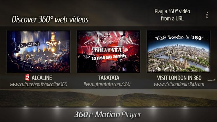 360 e-Motion Video Player