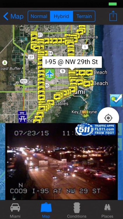 Miami Traffic Cameras Travel NOAA All-In-1 Pro screenshot-0