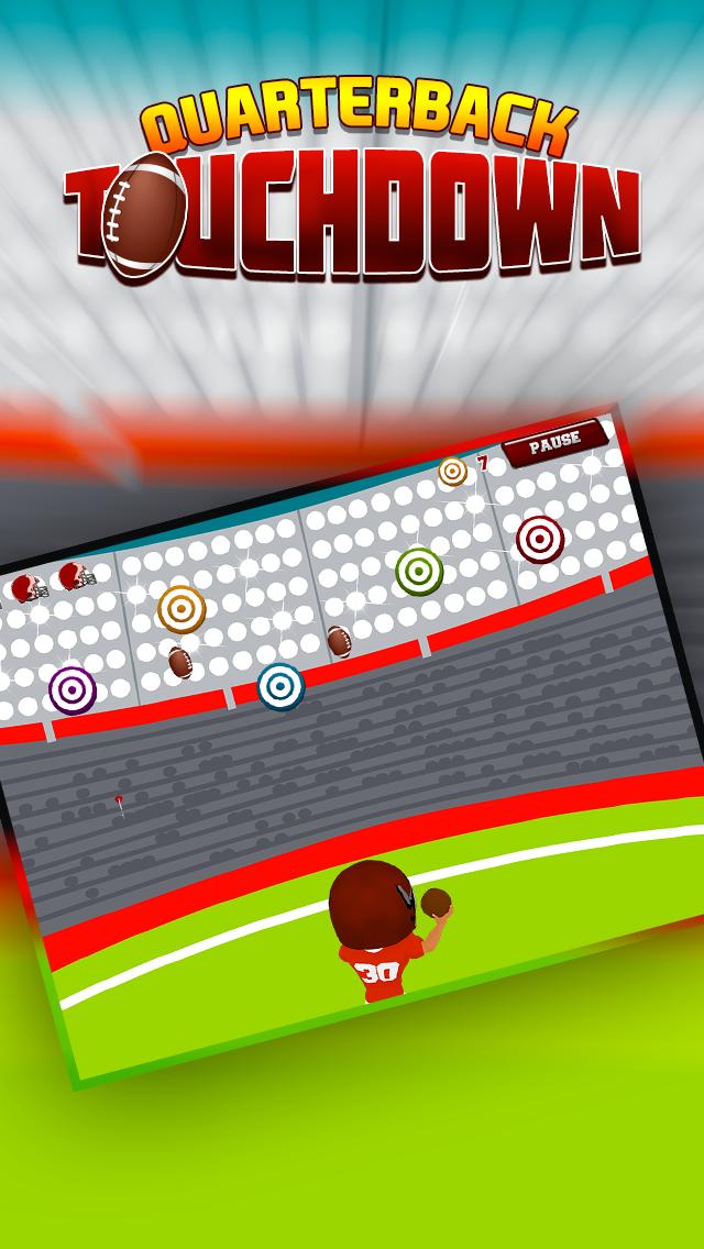 Quarterback Touchdown Target: Win the Big Football Game screenshot two