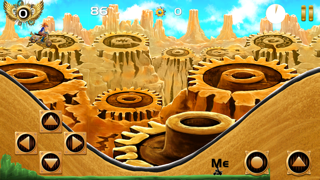 SteamPunk'd Rider : A Downhill Challenge GT Race HD Free screenshot two