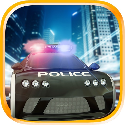 3D Police Car Race - Cop Racing Games