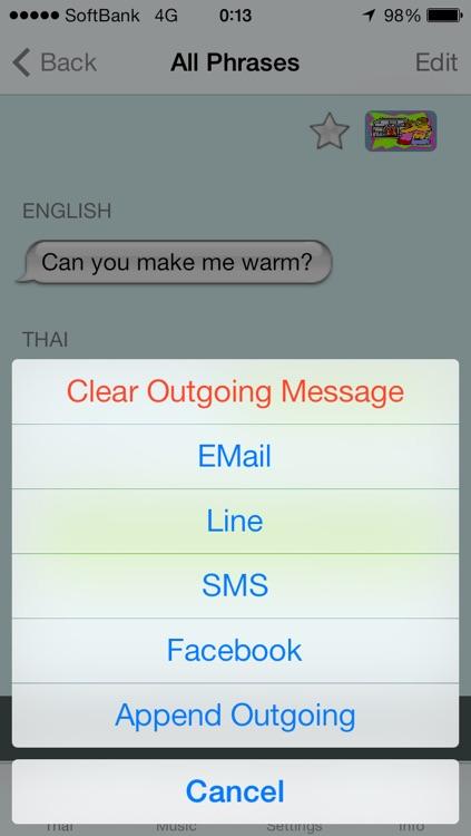 Thai - Talking English to Thai Translator and Phrasebook screenshot-4