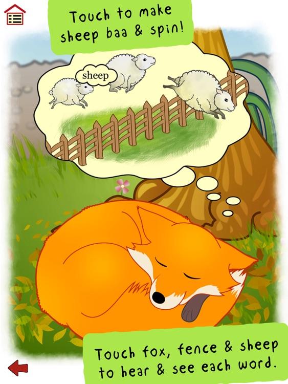 Ferdinand Fox's Big Sleep - interactive rhyming story book app for kids