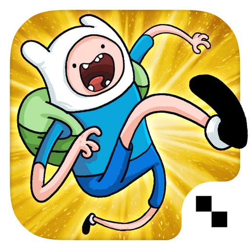 Jumping Finn Turbo - Adventure Time Launcher Game icon