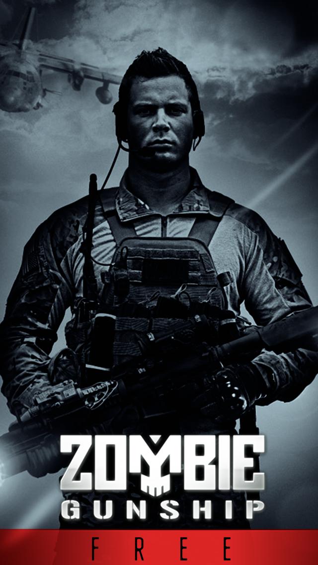 Screenshot from Zombie Gunship Free: Gun Down Zombies
