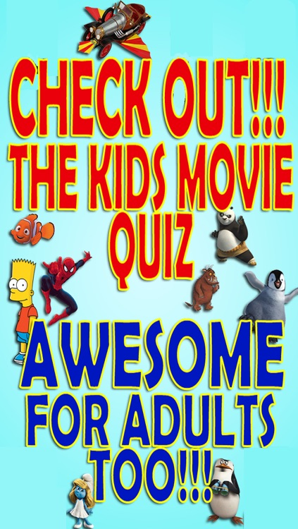 Kids Movies Trivia Quiz