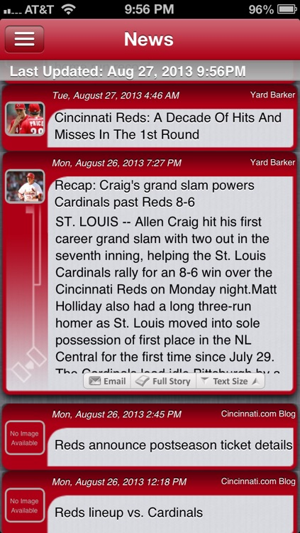 Cincinnati Baseball Live screenshot-2