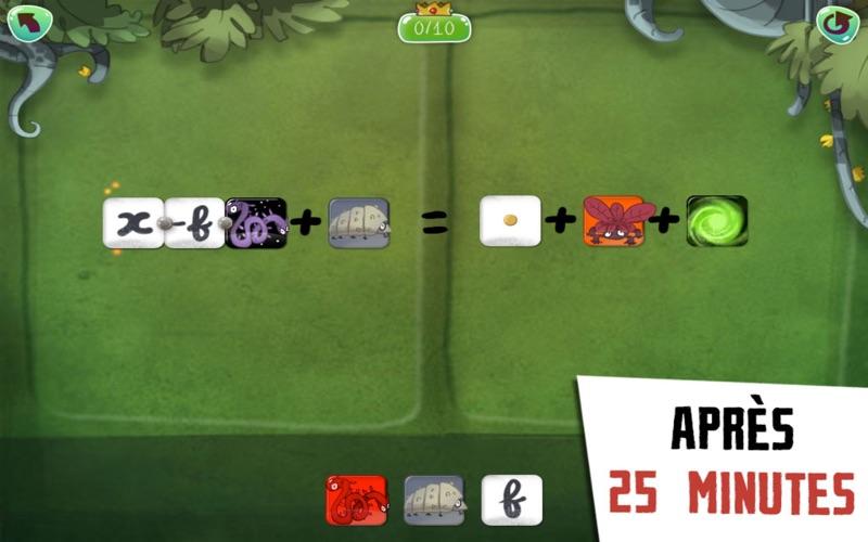 Screenshot #3 pour DragonBox Algebra 12+ - Le jeu multi-récompensé d'apprentissage des maths