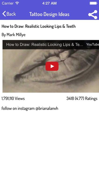 How To Tattoo - Tattoo Design Guide screenshot-3