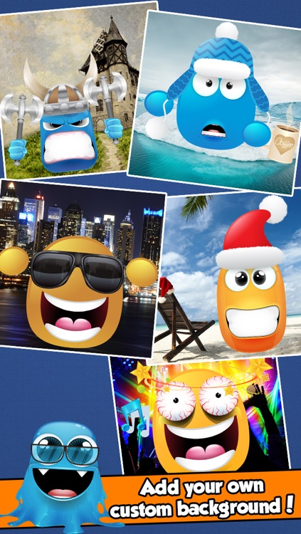 Blob Monster Avatar Creator - Make Funny Cartoon Characters for your Contacts or Profile Pictures screenshot-3