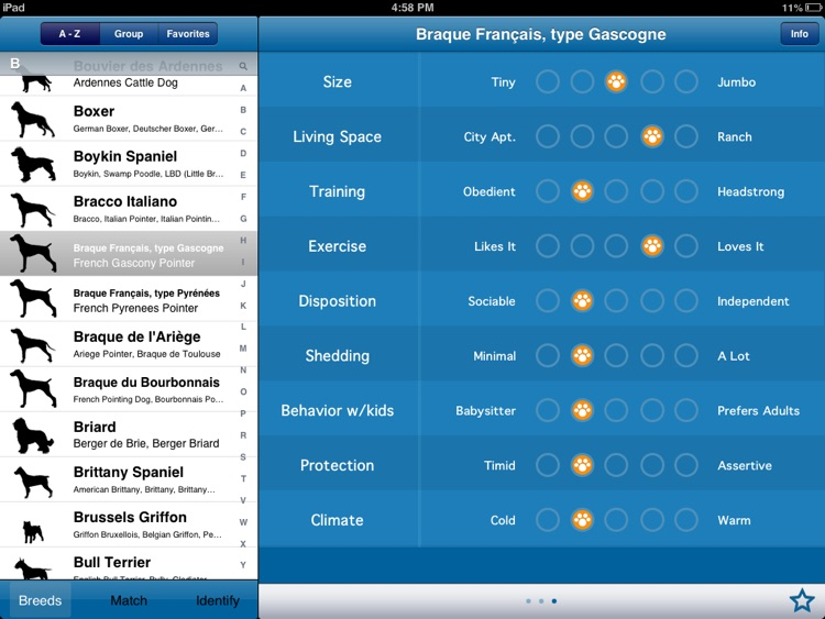 Perfect Dog HD Pro - Ultimate Breed Guide To Dogs screenshot-3