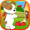 Cute Puppy Dog Seesaw Jumping - A Crazy Animal Toss-Catcher Mania