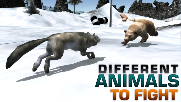 Angry Wolf Simulator – A Wild Animal Predator Simulation Game screenshot-3
