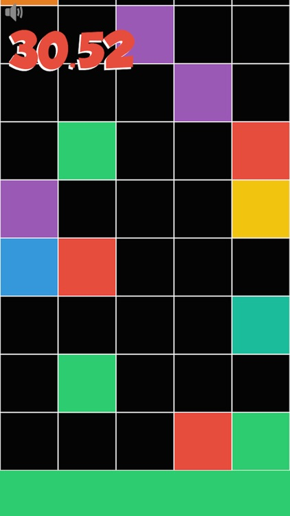 Don't tap any black tile! Touch the lowest colored tile only! Reach the target as soon as possible. screenshot-3