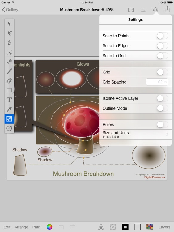 iDesignPro Free - Graphics Design App screenshot-3