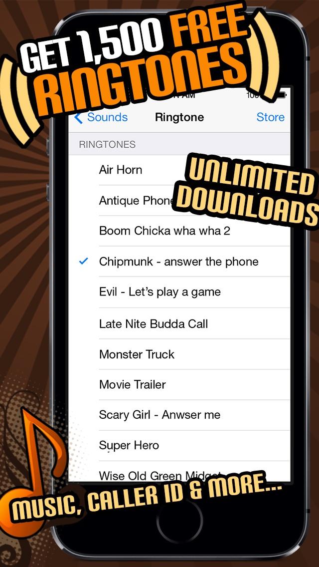 Screenshot for 1500 Ringtones Unlimited - Download the best iPhone Ringtones in United Arab Emirates App Store