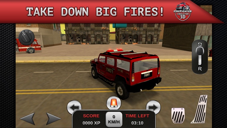 Firefighter Simulator 3D screenshot-2