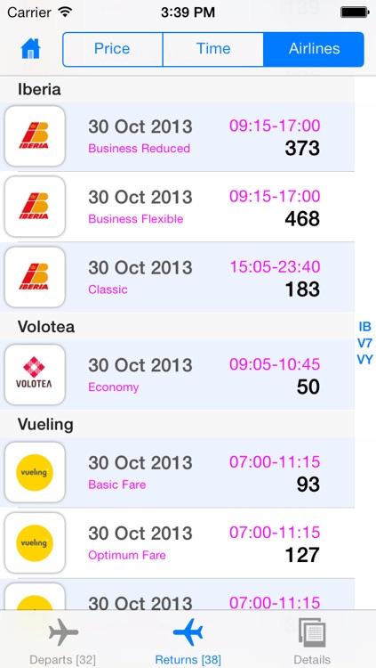 Spain Flight