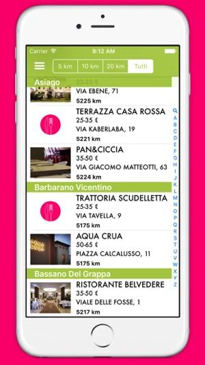 I Ristoratori Di Vicenza On The App Store